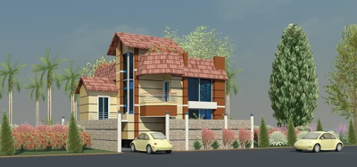 Provide 3D exterior design of building / house by REVIT