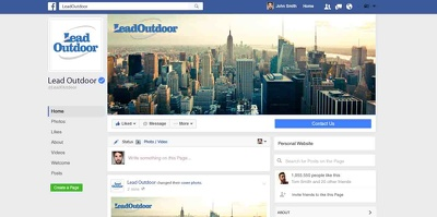 Design your social media headers, covers and banners
