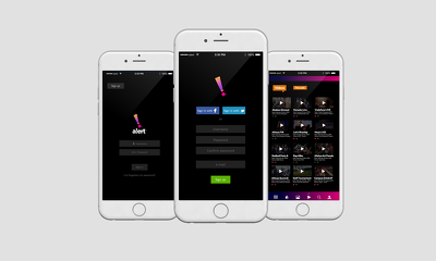 Mobile application , Android , IOS with backed