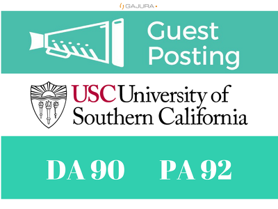 guest Post on California EDU University Blog (usc.edu) DA 90