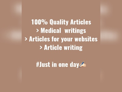 Write 500 words articles