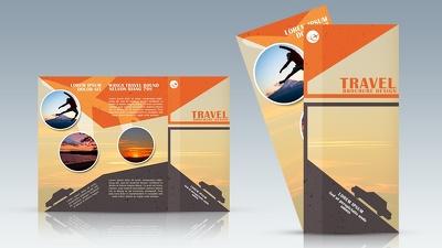 Design your creative brochure/flyer/leaflet/postcard