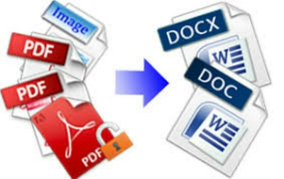 Convert your pdf or images  to word document in editable version