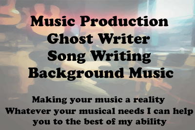 Compose and produce any music you need (Songwriting too)