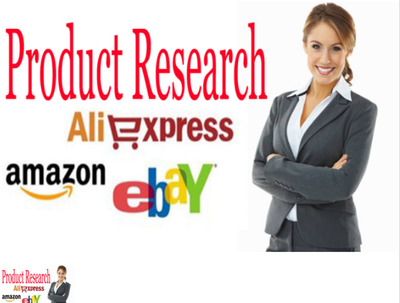 I can do Market research for your products or business