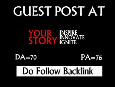 Guest post on yourstory DA75