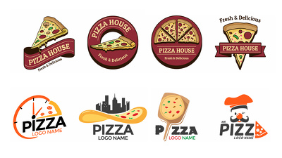 Design your Pizza Logo