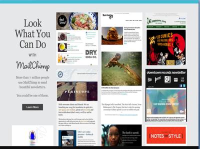 Design and Edit  Mailchimp Responsive  HTML  Newsletter.