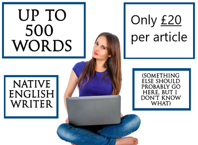 Native English UK Writers for Blogs, Articles & Guest Posts