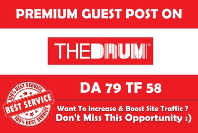 Publish Guest post on Thedrum. Com with a High Authority BackLin