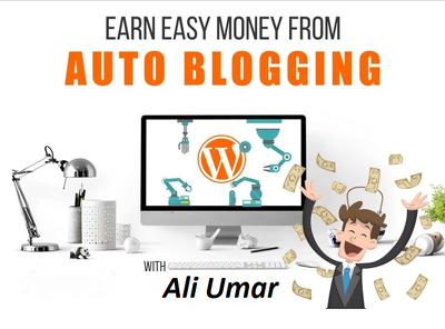Make Money with Wordpress Autoblogging Website