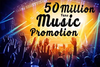 Promote your music to 50 million music fans