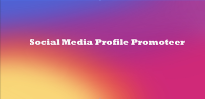 Promote your social media profiles to our 10000 community people
