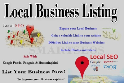 Submit Business Details ON 100 TOP USA OR UK CITATION SITES