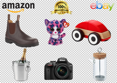 Remove background 40 images for your amazon or ebay product