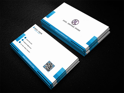 Design clean corporate business card in less than 24hrs