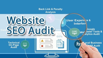 Give you an SEO audit of your website to improve your rankings