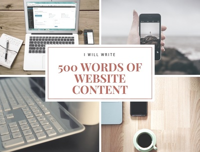 Write 500 words of captivating website content