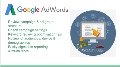 Perform an audit of your Adwords account (up to 3 campaigns)