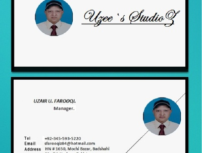 Build / design Business Visiting card for you.