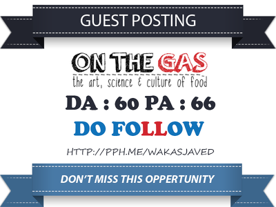 Publish Guest Post on On The Gas Onthegas.org DA 60 Dofollow