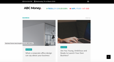 Publish a guest post on Abcmoney.co.uk - Dofollow