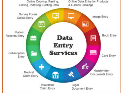 Do all types of data entry and other PDF conversion