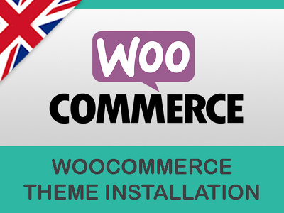 Install your woocommerce theme
