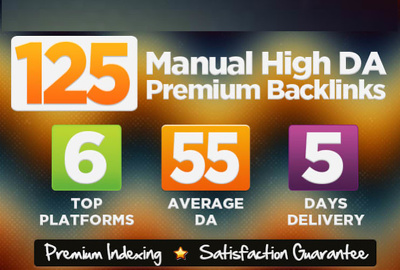 All In One SEO Manual Backlink Building Service on High DA Sites