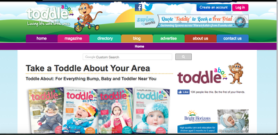 Publish a guest post on ToddleAbout.co.uk - DA52, PA42