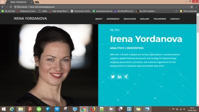 Build professional portfolio website in WordPress