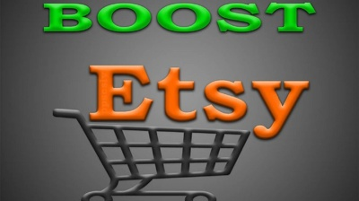 Do Etsy promotion for 1 month