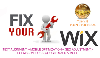 Fix your WIX website