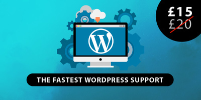 Get Wordpress error fixed within 24hrs.