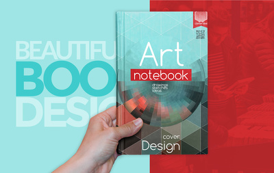 Book cover and packing design