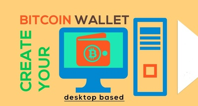 I Will Create Your Own Bitcoin wallet