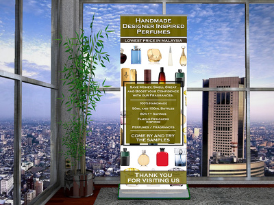 Design and print your next trade show banner stand