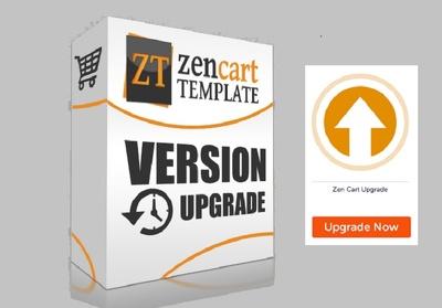 Instal Zen Cart version upgrade