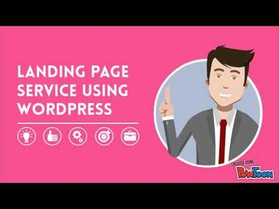 Make a professional wordpress landing page in 4 hours