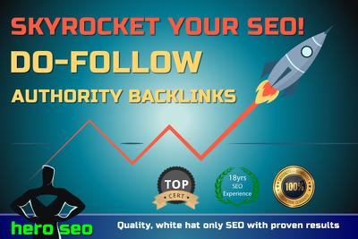 Skyrocket your SEO with 50+ Authority Do Follow Backlinks