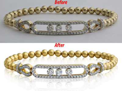 Do Studio quality retouch on your 5 jewellery