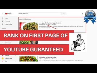 Rank Youtube Video On Page One With SEO