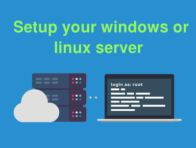 Setup your dedicated server / VPS