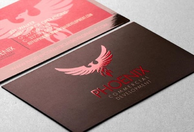 Design Amazing Spot Uv And Emboss Business Card