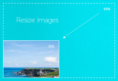 resize up to 300 images with/without custom watermark