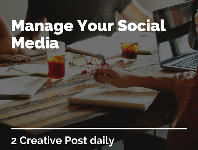Manage your social media account with Complimentary services.