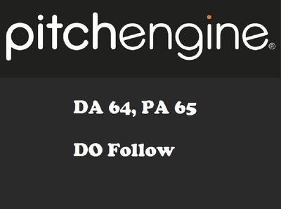 Write & Publish on Pitchengine