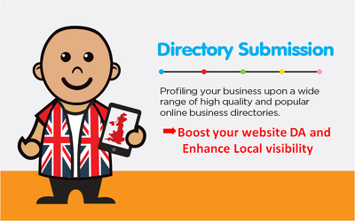 Do 20 high quality and high domain authority UK directory Links