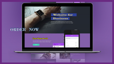Design responsive website for you