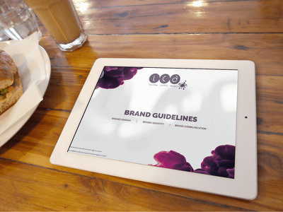 Create a full set of brand guidelines for your company